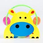 Погремушка  музыкальная «Животные, бубен» виды МИКС - фото 105530944