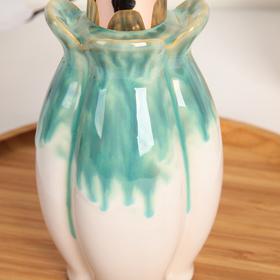 Дозатор для жидкого мыла «Афродита», цвет бирюзовый - фото 1603244