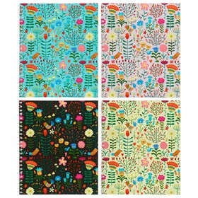 Notebook 48l cl on the ridge Floral meadow chalk cards choice UV varnish 3002-48, mix