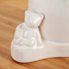 Дозатор для жидкого мыла «Мишутка», цвет бирюзовый - фото 1603297