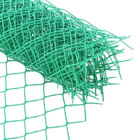 Сетка садовая, 1.8 × 10 м, ячейка 9 × 9 см, зелёная