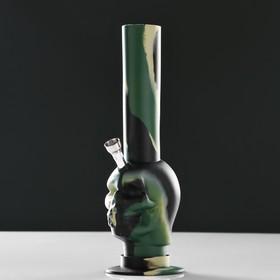 """Бонг """"Череп камуфляж"""" 8х26 см, микс"""