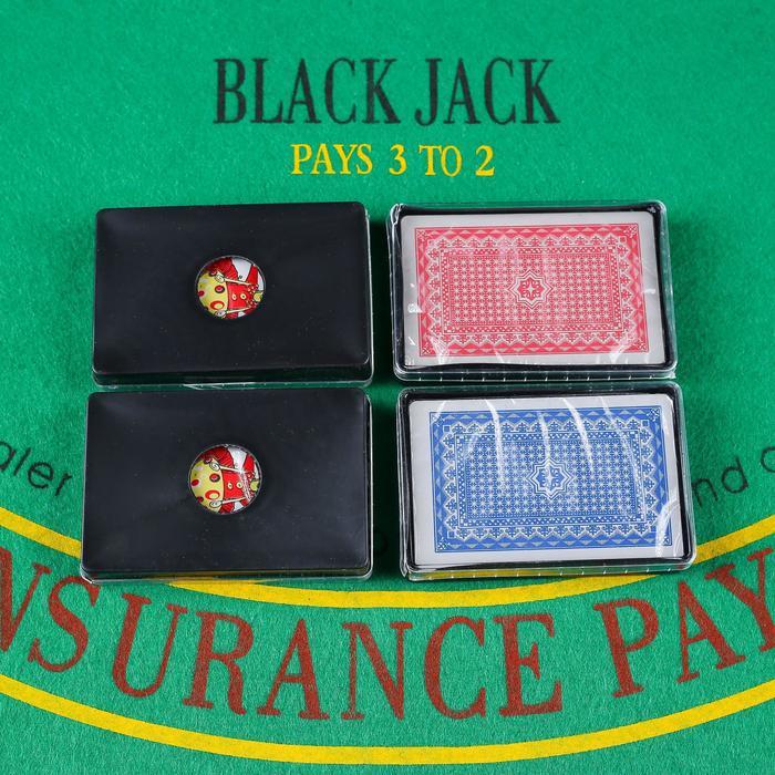 Карты игральные пластиковые Royal, 54 шт., 19 мкм, 8,8 × 5,7 см, пластиковая коробка, микс