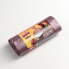 Пакеты для мусора ароматизированные «Клубника в шоколаде», ПНД, 30 л, 20 шт, цвет коричневый - фото 4646125