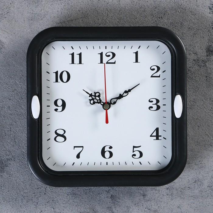 """Часы настенные, серия: Классика, """"Эшли"""",  d=18.5 см, 1 АА,  плавный ход, микс - фото 798470053"""