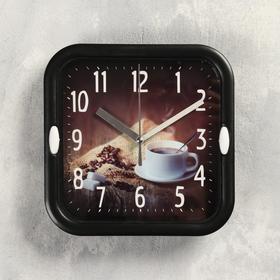 "Часы настенные, серия: Кухня, ""Зёрна"",  d=18.5 см, 1 АА,  плавный ход , микс"