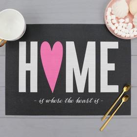 "Салфетка на стол ""Home"""