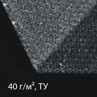 Плёнка воздушно-пузырьковая, толщина 40 мкм, 0,75 × 8 м, двухслойная