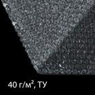 Плёнка воздушно-пузырьковая, толщина 40 мкм, 0,75 × 10 м, двухслойная