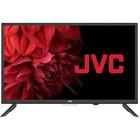 "Телевизор JVC LT-24M585, 24"", 1366х768, DVB-T2/C, 3хHDMI, 2хUSB, SmartTV, чёрный"