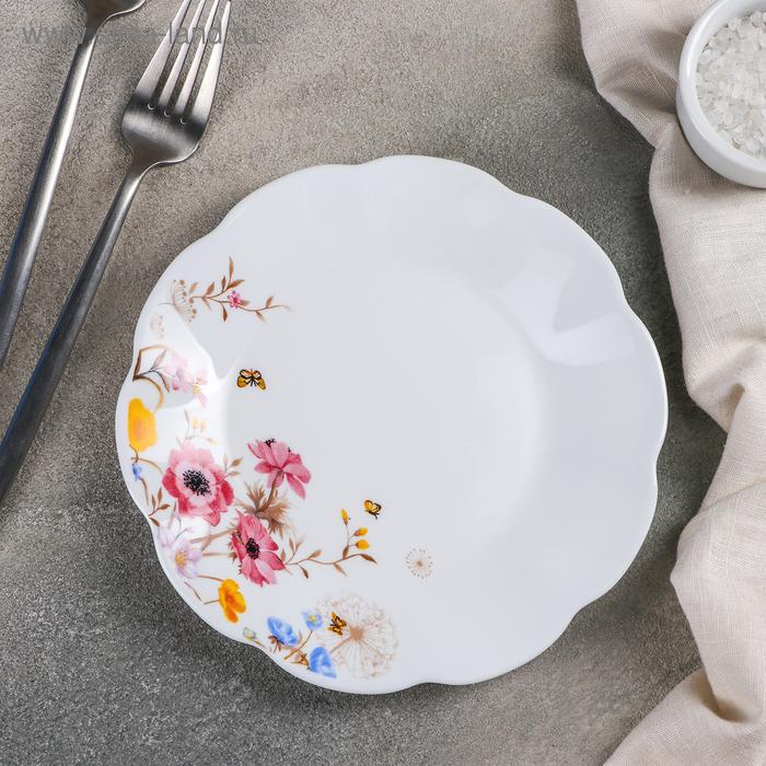 """Dessert plate """"Summer romance"""", d=17.5 cm"""