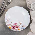 Тарелка обеденная Доляна «Летняя романтика», d=20,5 см - фото 664534