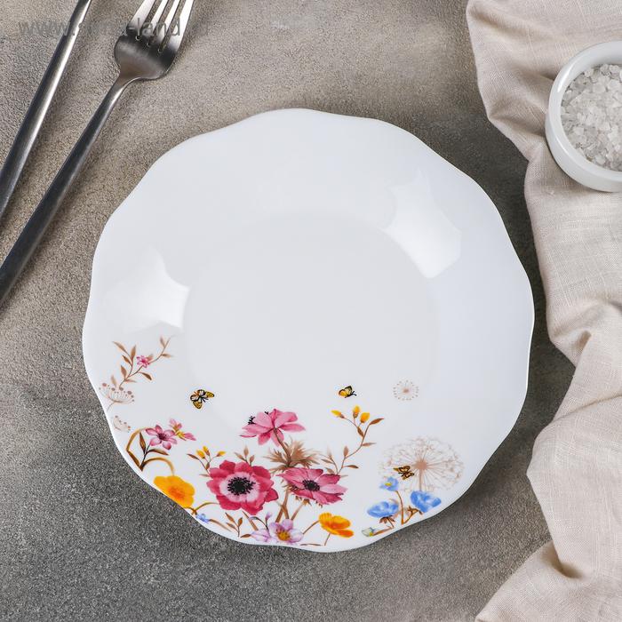 """Plate lunch """"Summer romance"""", d=20.5 cm"""