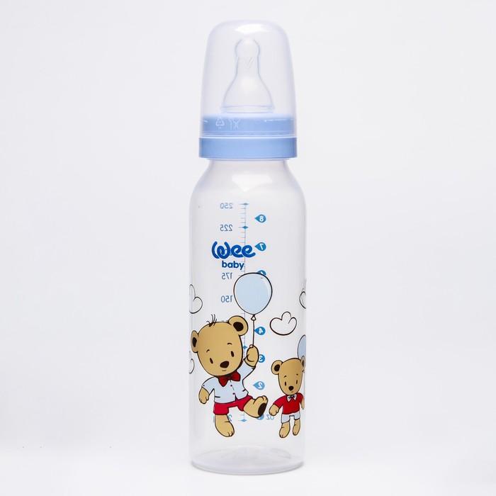 Бутылочка CLASSIC для кормления, 250 мл., с силиконовой соской