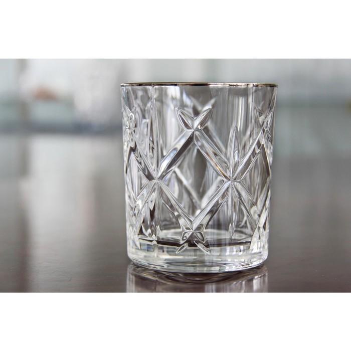 Набор стаканов для виски York Platinum, 320 мл, 4 шт
