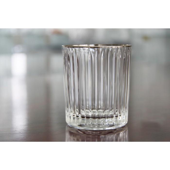 Набор стаканов для виски Skyline Platinum, 320 мл, 4 шт