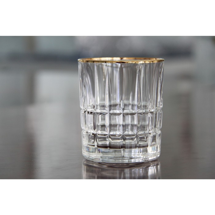 Набор стаканов для виски DOVER GOLD, 320 мл, 4 шт