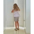 Блузка для девочки MINAKU: cotton collection romantic цвет сиреневый, рост 98 см - фото 105465067