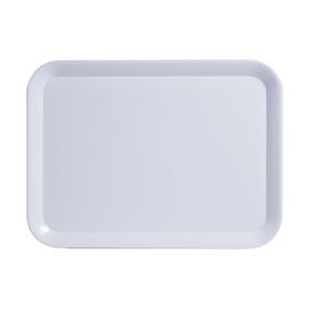 Поднос 43.5×32.5 см, белый