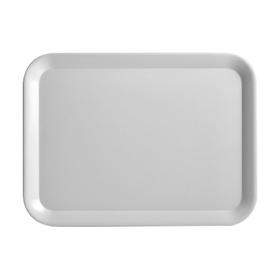 Поднос 43.5×32.5 см, серый