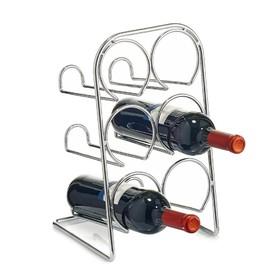 Подставка для бутылок 21.5×20×37 см, металл