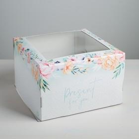 {{photo.Alt || photo.Description || 'Коробка для торта Present, 30 х 30 х 19 см'}}