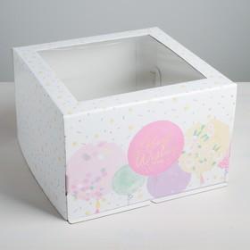{{photo.Alt || photo.Description || 'Коробка для торта Best wishes, 30 х 30 х 19 см'}}