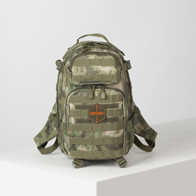 Tactic backpack 070,30l, 2 parts with zippers, 2 n / pockets, malachite