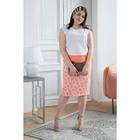 Комплект из юбки и топа для женщин, размер  54