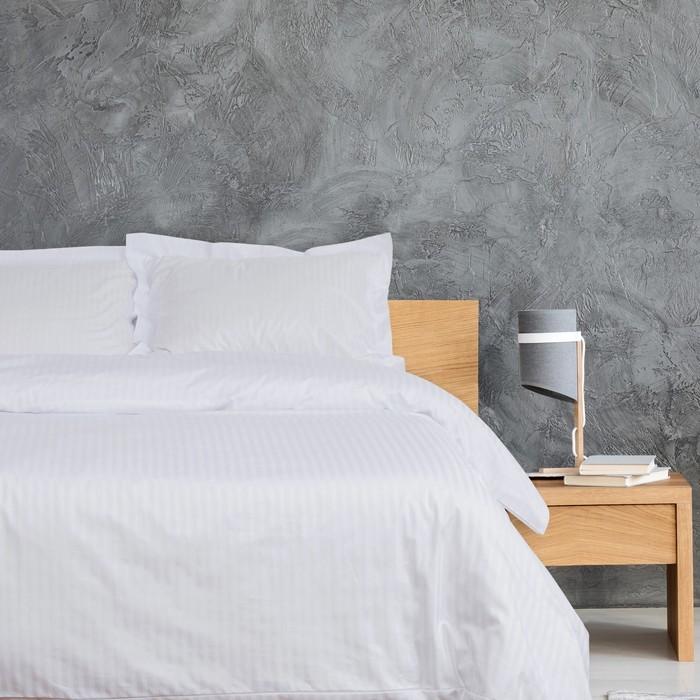 Постельное бельё Этель «Hotel» 2 сп 182х227см, 207х232см, 53х73 + 5 см - 2шт - фото 887451