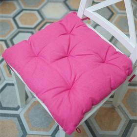 Подушка на стул, размер 45 × 45 см, цвет чайная роза