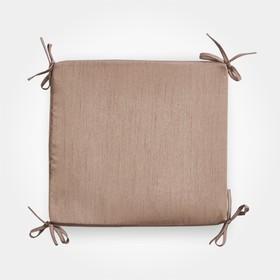 Сидушка на стул бамбук 34х34х1,5 см