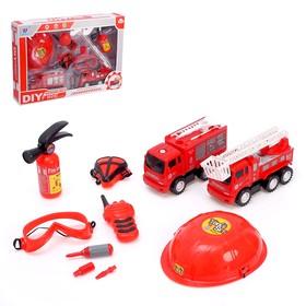 Конструктор винтовой «Пожарная команда»