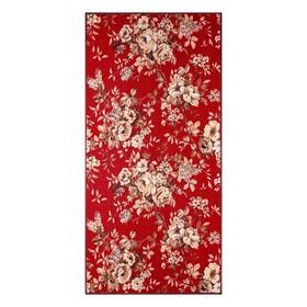 Палас «ЖАКЛИН», 100х200 см, цвет красный