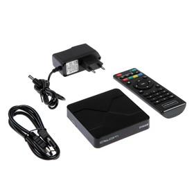 Приставка Смарт ТВ Atom-216AM, 2 Гб, 16 Гб, Android, 4К, Wi-Fi, Bluetooth, HDMI-кабель