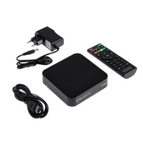 Приставка Смарт ТВ Atom-216RK, 2 Гб, 16 Гб, Android, 4К, Wi-Fi, Bluetooth, HDMI-кабель