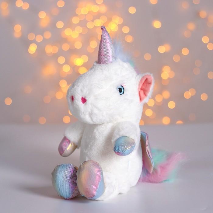 Мягкая игрушка «Единорог с крыльями» - фото 4470912