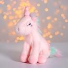 Мягкая игрушка «Единорог с цветами», цвета МИКС - фото 4470914