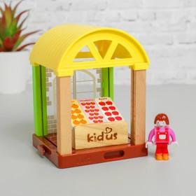 Набор для кукол «Магазин овощей для кукол» 6×22,5×14,5 см