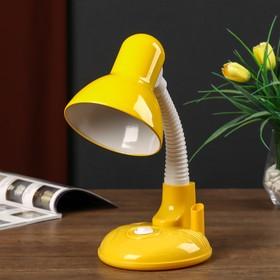 Светильник настольный UT-221 E27 40Вт на подставке желтый 27,5х37х14 см