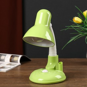 Светильник настольный UT-221 E27 40Вт на подставке зеленый 27,5х37х14 см
