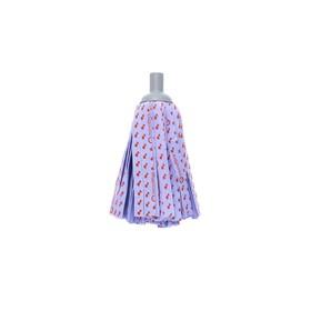 Насадка для швабры с резьбой, ленточная микрофибра, цвет лиловый Ош