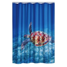 Штора для ванных комнат Sea World, 180х200 см