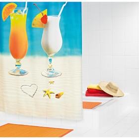Штора для ванных комнат Sex on the beach, 180х200 см