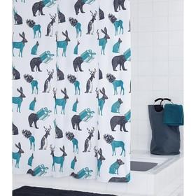 Штора для ванных комнат Topsy-Turvy-World, 180х200 см