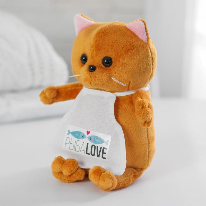 Мягкая игрушка «Кот Бисквит», повар - фото 798473118