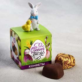 Конфеты шоколадные «Светлой Пасхи», с фигуркой, 50 г
