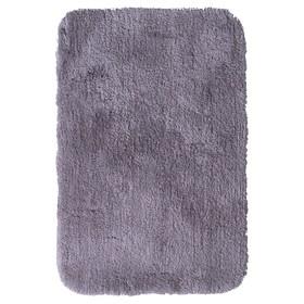 Коврик для ванной комнаты Chic, цвет серый, 60х90 см