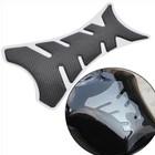 Наклейка защитная на топливный бак мотоцикла, карбон