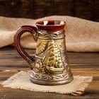 "Бокал ""Морской"", бронза, керамика, 0.7 л, микс - фото 717042"